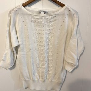 White House Black Market sweater 100% Cotton GUC